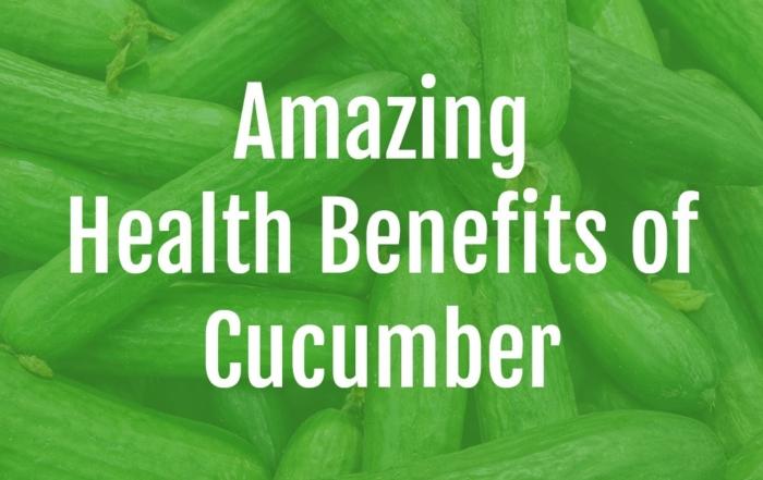 Health Benefits of Cucumber